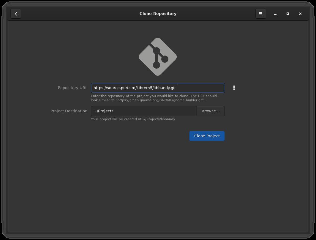 Apps/Tutorials/GNOME_Builder_Flatpak/images/gnome-builder-clone-repo.png